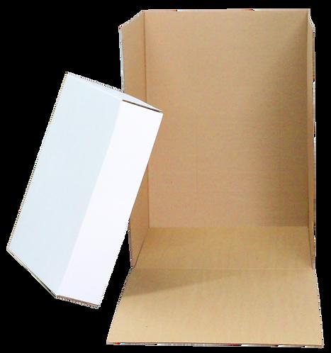 White Corrugated Surprise Box