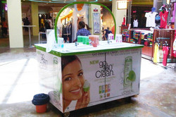 loreal mobile sink display