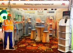 marketing logistics event booth