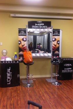 loreal mobile makeup display