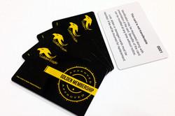 GOLDEN EAGLE MEMBERSHIP CARDS