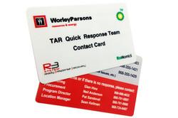WORLEY EMERGENCY CARDS