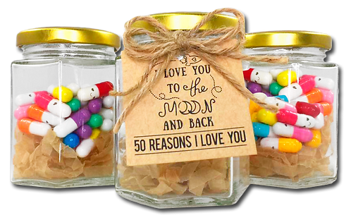 Love Notes Pill Bottle