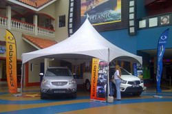 sterling services tent display