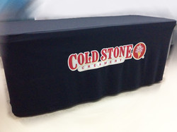 cold stone table cloth