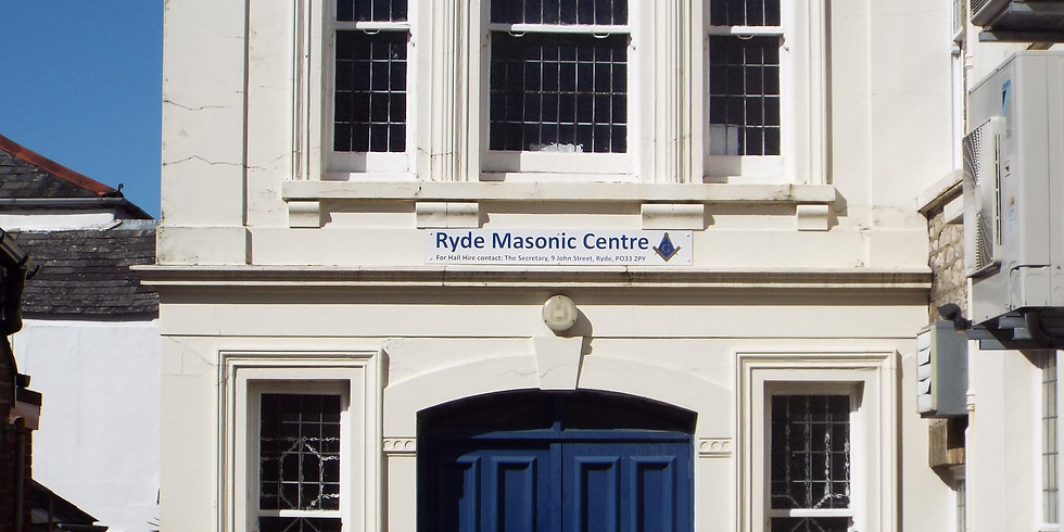 RYDE PSA BLOOD TEST EVENT in partnership with Ryde Freemasons