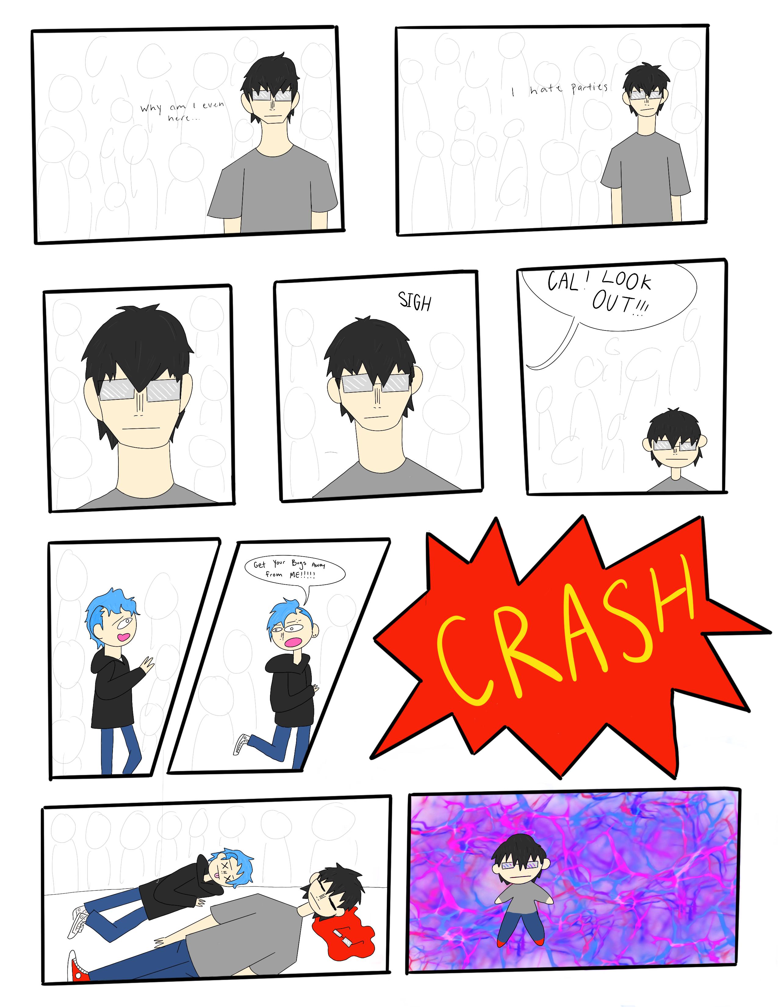 Untitled comic Pg1