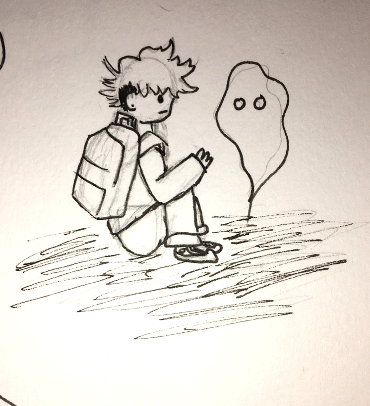 chillin w ghosties