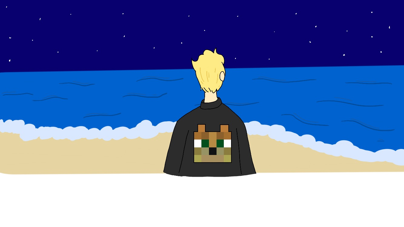MCSM Lukas on the beach