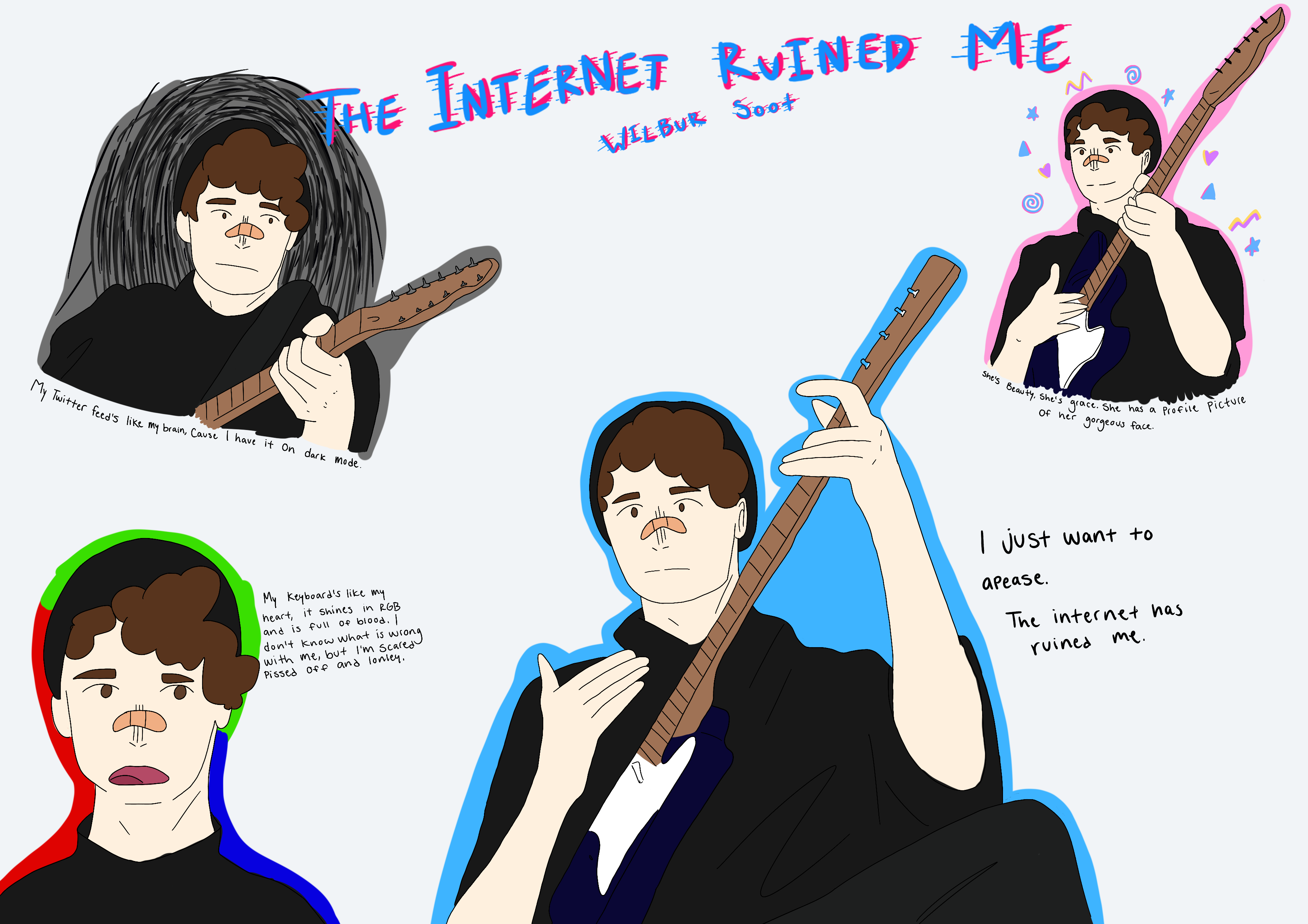 The internet ruined me - Wilbur Soot