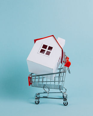 Mortgage concept. Shopping for a home.jp