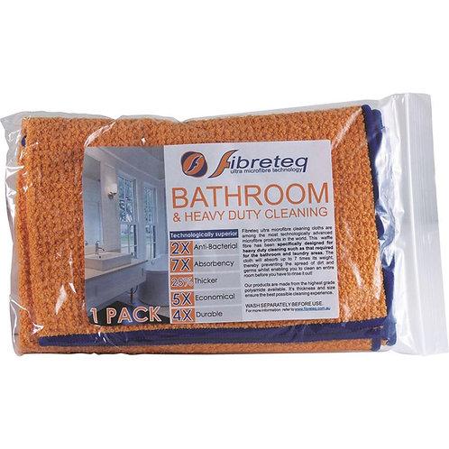 Fibreteq Microfibre Cloth Bathroom & Heavy Duty Cleaning