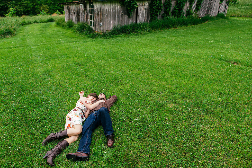 Relaxing Engagement Photography