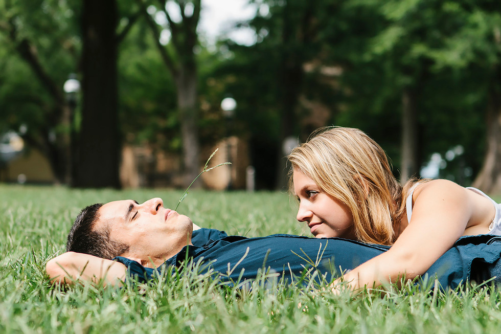 Chill Couple Engagement Photography