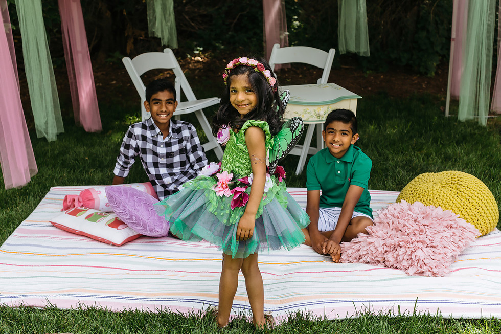Birthday Girl Fairy Photography