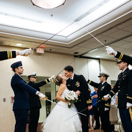 Stephanie & Tim:  A Wedding at Fort Belvoir Officers Club