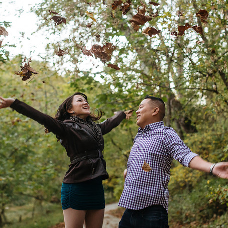 Christina & Anky:  An Engagement at Patapsco Valley State Park