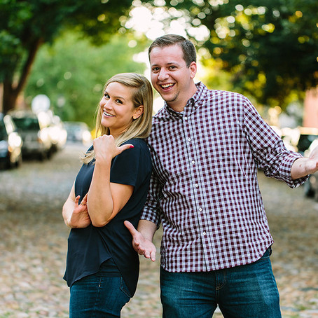 Sammi & Jacob:  An Engagement in Old Town, Alexandria