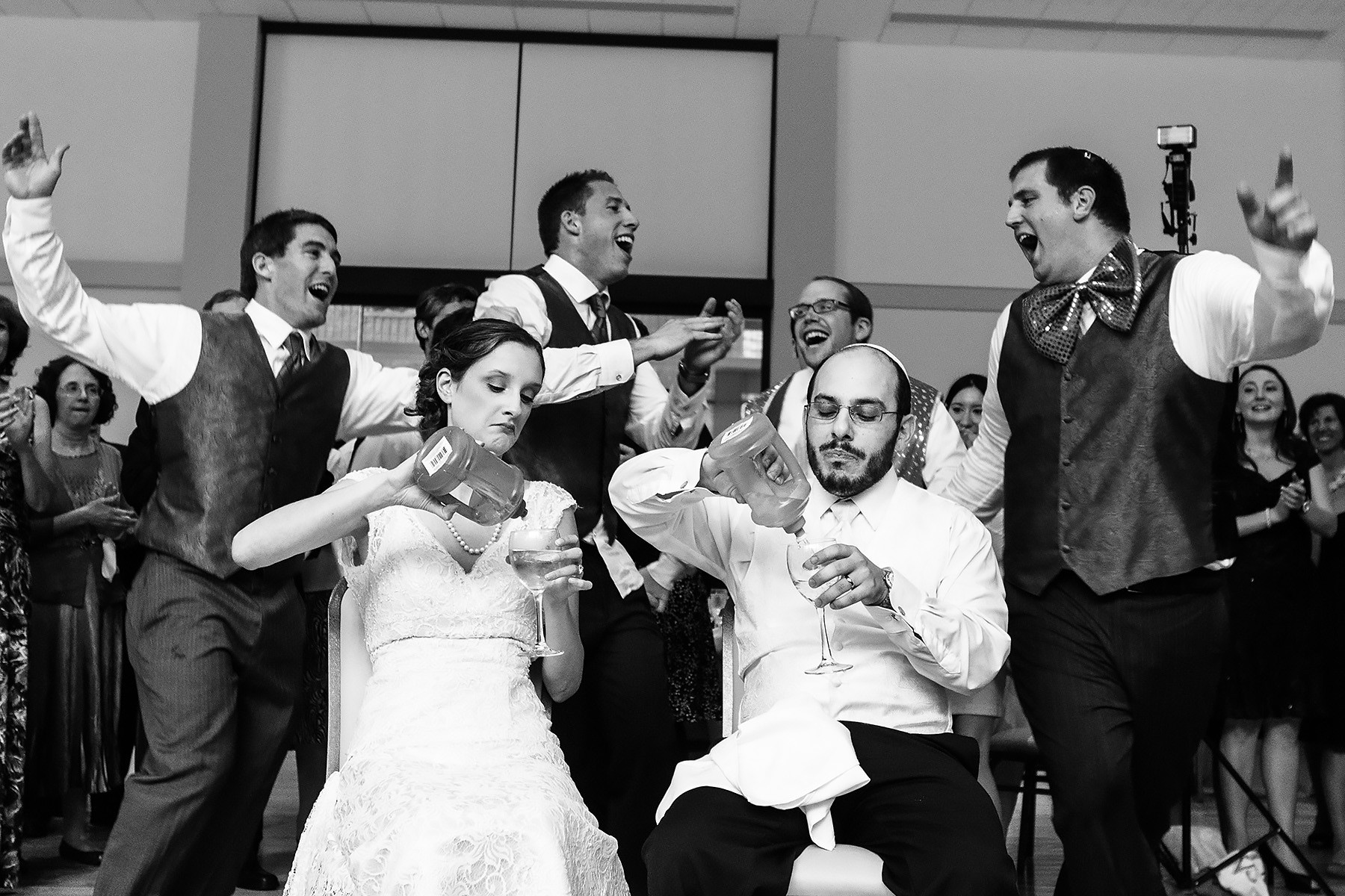 Horah Jewish Wedding Tradition