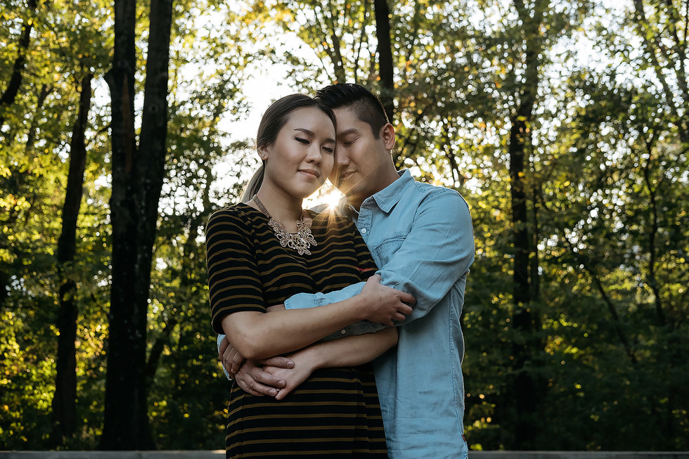 Engagement Photography Cuddle
