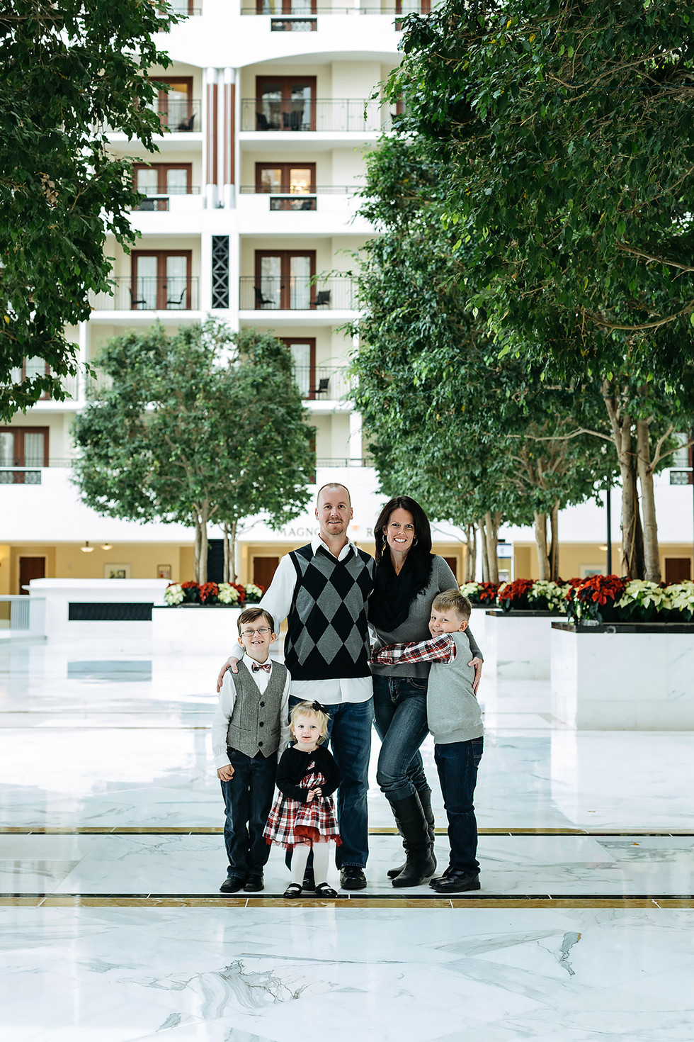 Gaylord National Resort & Convention Center Family Photography