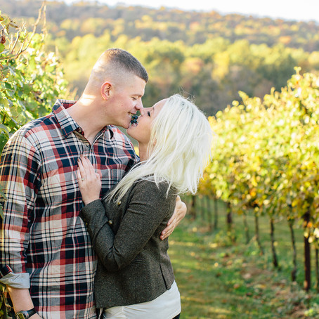 Julia & Drew:  An Engagement at Doukenie Winery