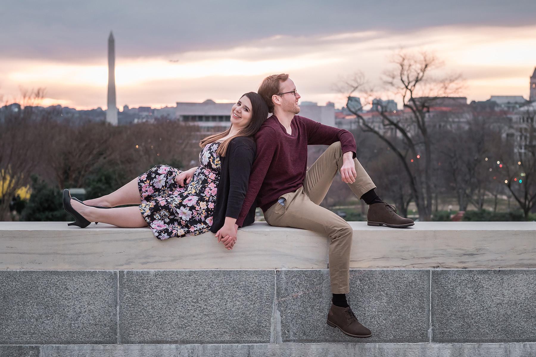 Washington, DC Engagement Photography