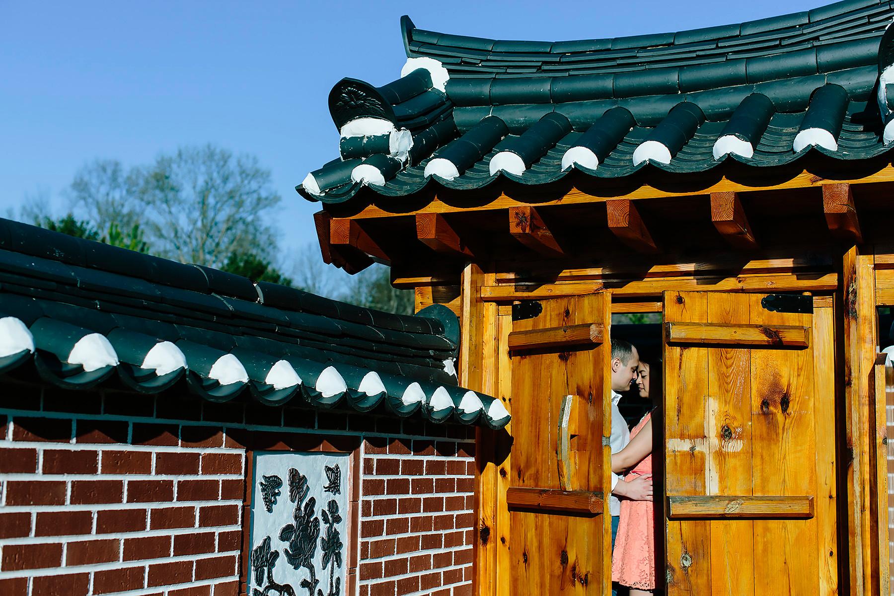 Meadowlark Botanical Gardens Engagement Photography