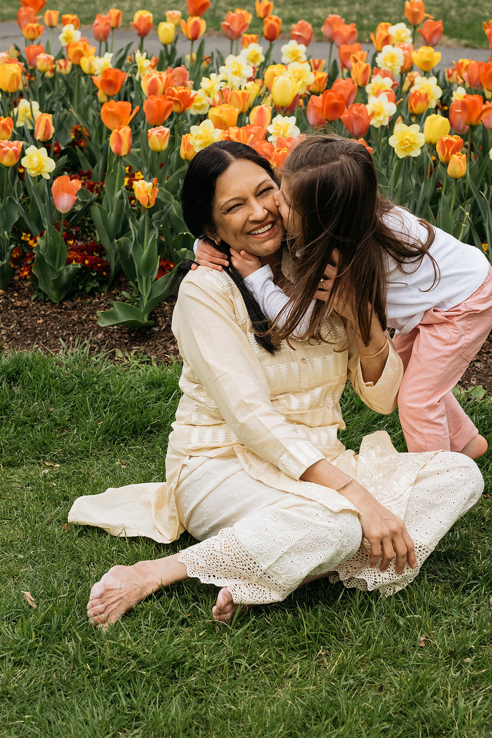 Grandmother & Granddaughter Family Photography