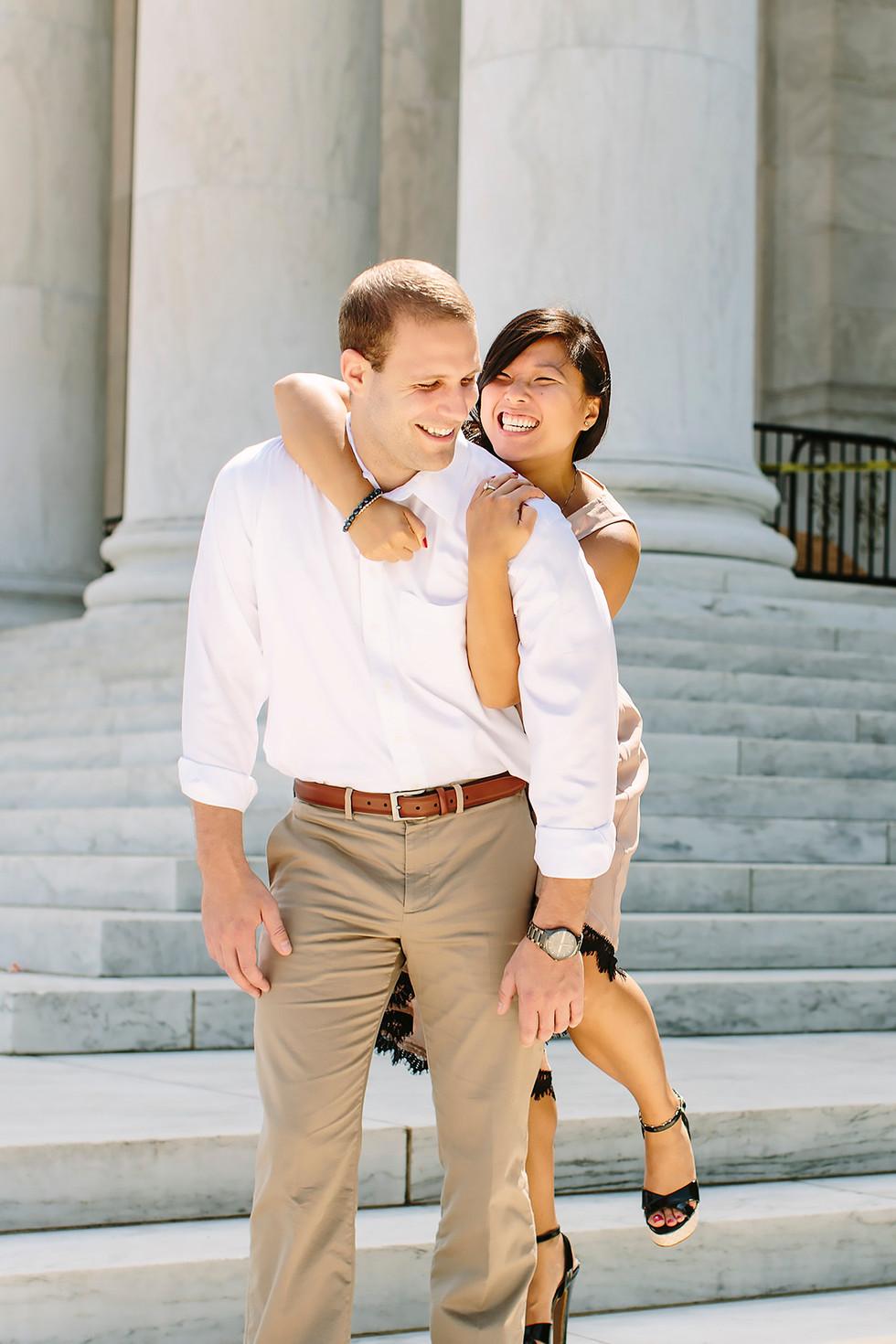Chokehold Engagement Photography