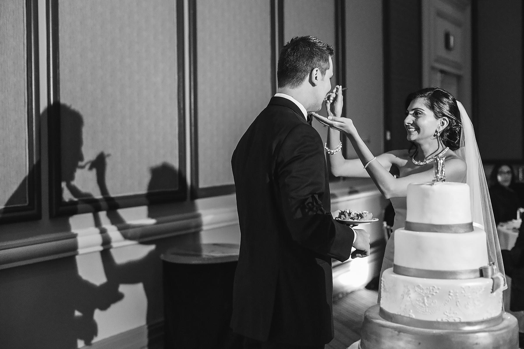 Bride & Groom Cake Feeding