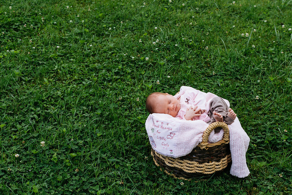 Newborn Baby Family Photography