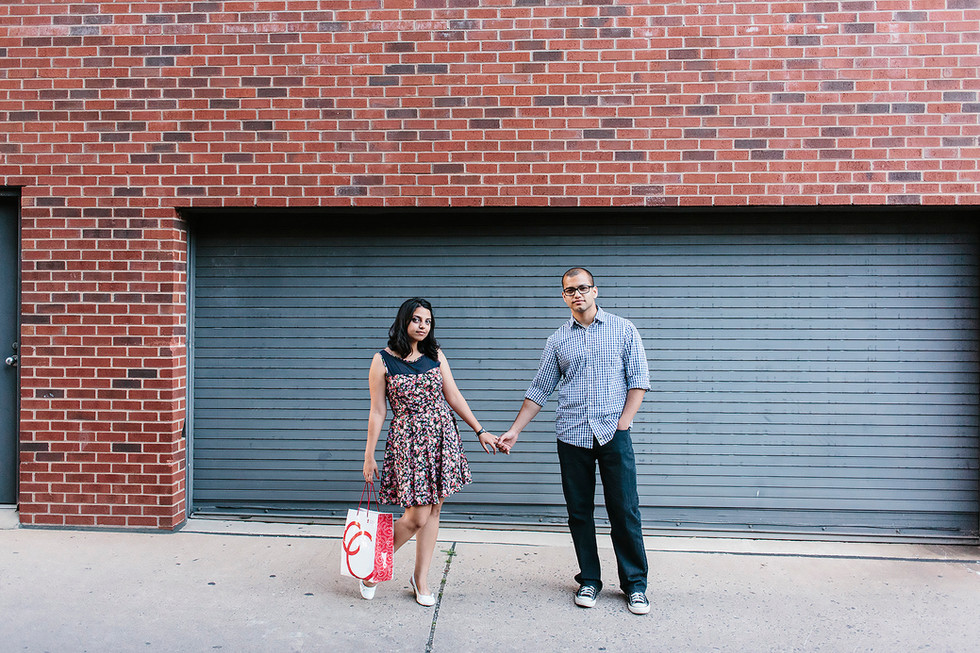 Cool Couple Engagement Photography