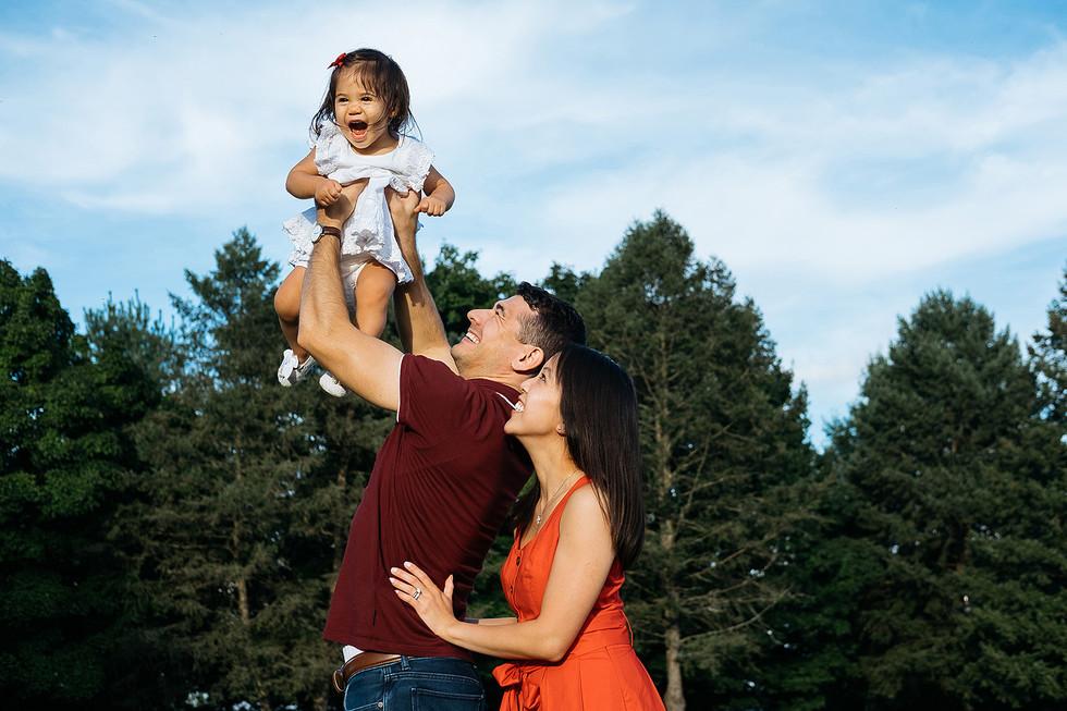 Adams Ricci Park Family Photography