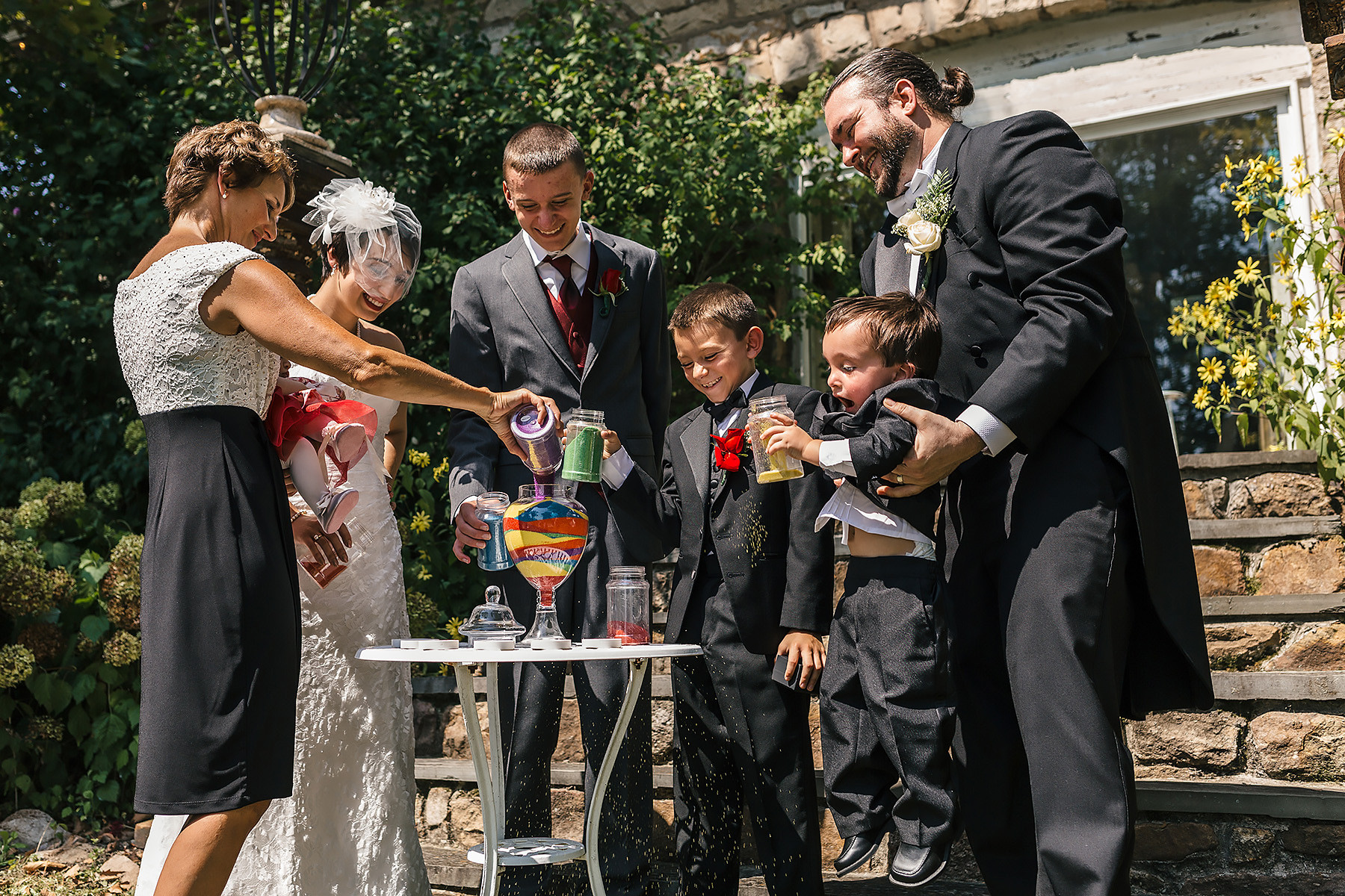 Wedding Family Sand Ceremony