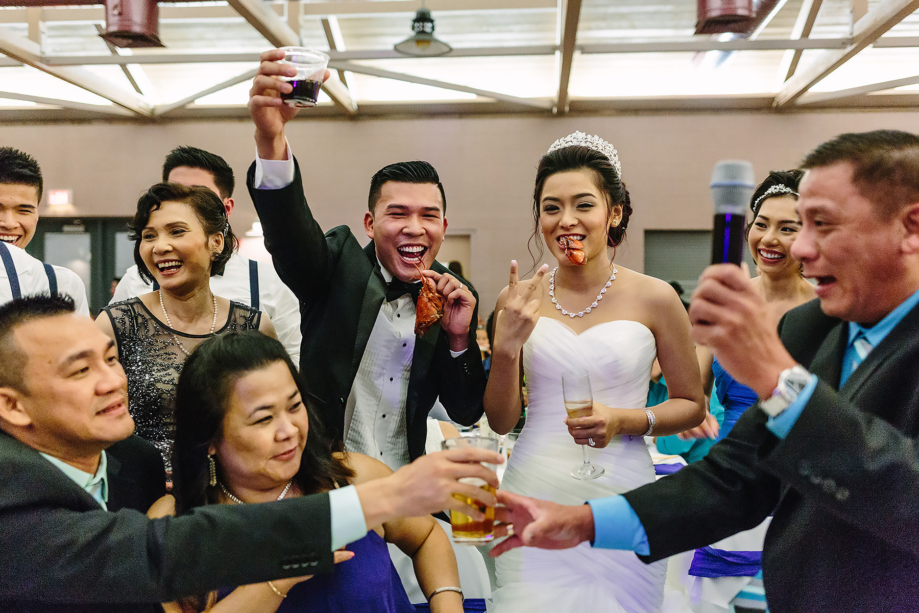 Fun Vietnamese Wedding Table