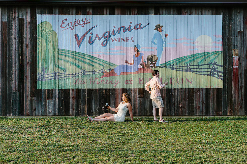 The Winery at Bull Run Engagement Photography