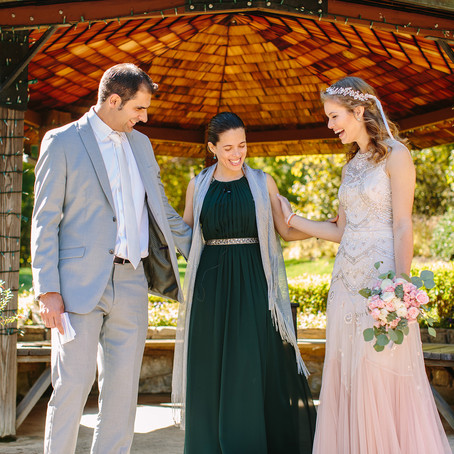 Alison & Roman:  A Wedding at Brookside Gardens