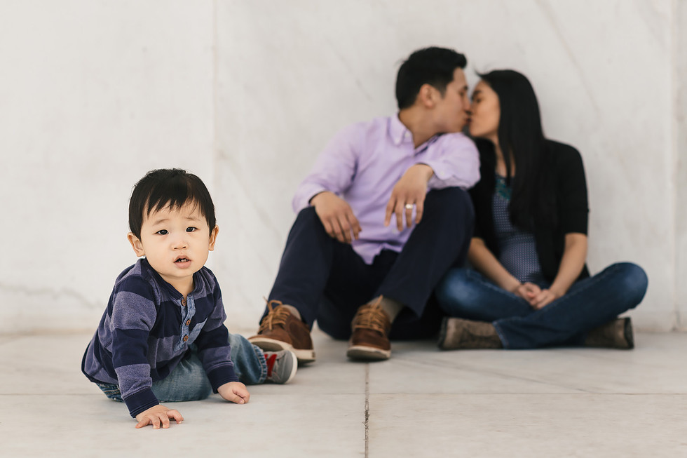 Son & Parents Family Photography