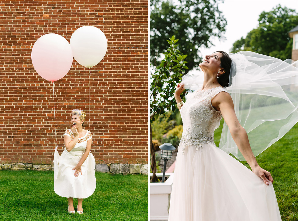 Fun Bridal Portrait