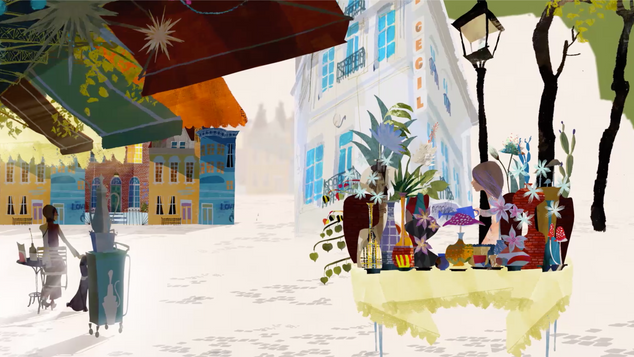 Athens Concert Hall, Animated Show