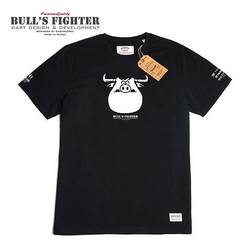 T-shirt - Bull - Black