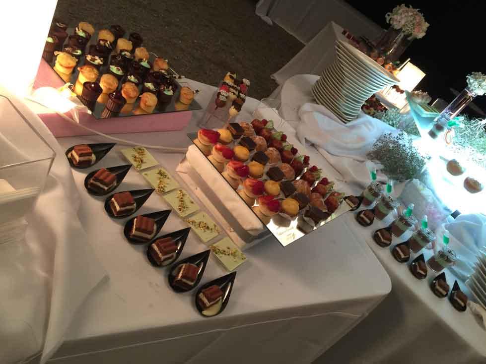 Buffet de dessert - Traiteur Nigues - Mariage Narbonne
