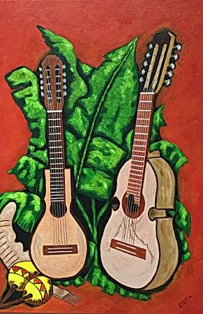 El Cuatro y La Guitarra
