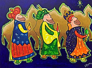 3 Kings and the Camels