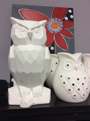 Owls to paint