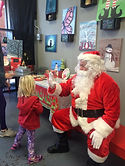 Santa Claus Kids Events Christmas Red suit  Hot Fired Arts Frederick MD