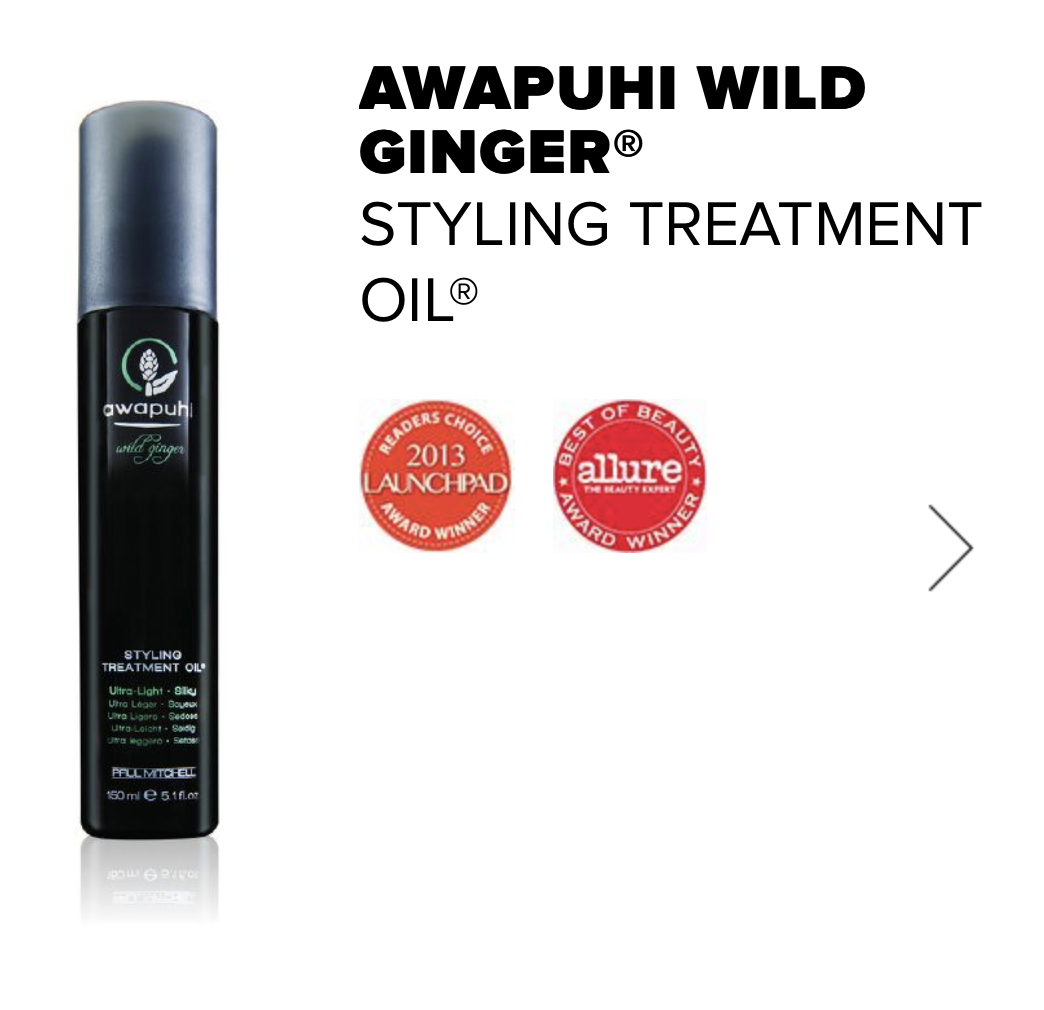 styling oil treatment