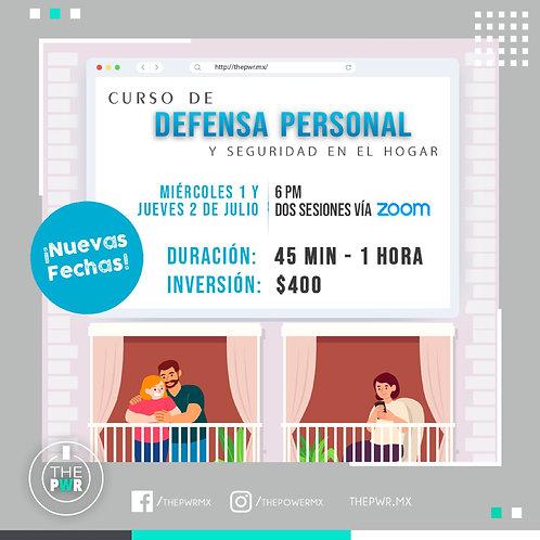 Curso Seguridad y Defensa Personal