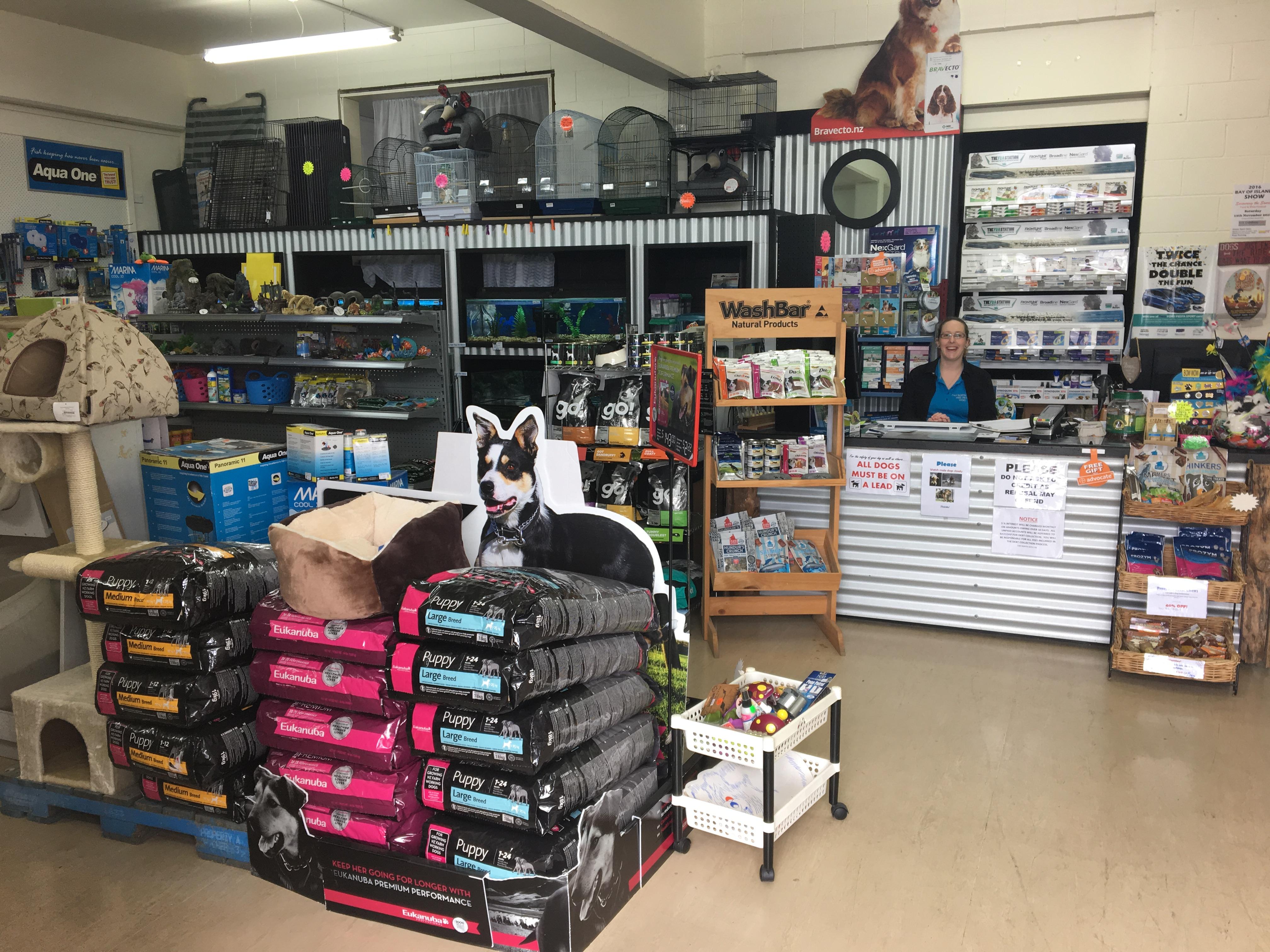Far North Vets Kaitaia Pet Shop